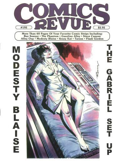Cover for Comics Revue (Manuscript Press, 1985 series) #195
