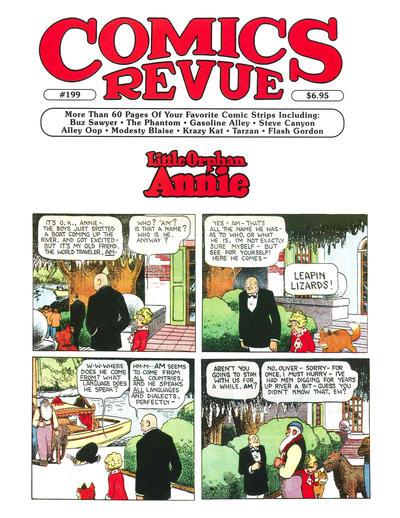 Cover for Comics Revue (Manuscript Press, 1985 series) #199