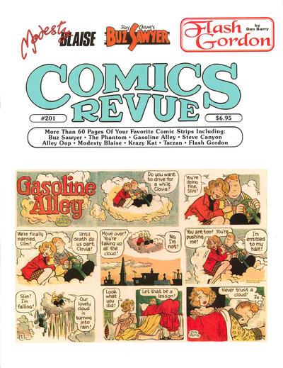 Cover for Comics Revue (Manuscript Press, 1985 series) #201
