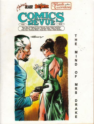 Cover for Comics Revue (Manuscript Press, 1985 series) #202