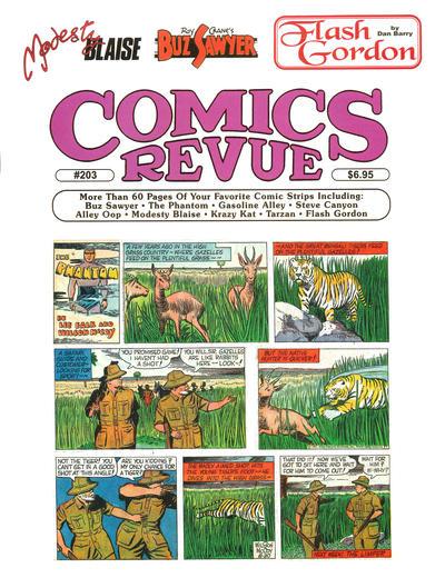 Cover for Comics Revue (Manuscript Press, 1985 series) #203