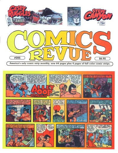 Cover for Comics Revue (Manuscript Press, 1985 series) #205