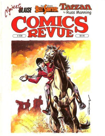 Cover for Comics Revue (Manuscript Press, 1985 series) #208
