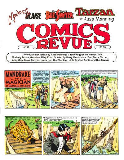 Cover for Comics Revue (Manuscript Press, 1985 series) #212