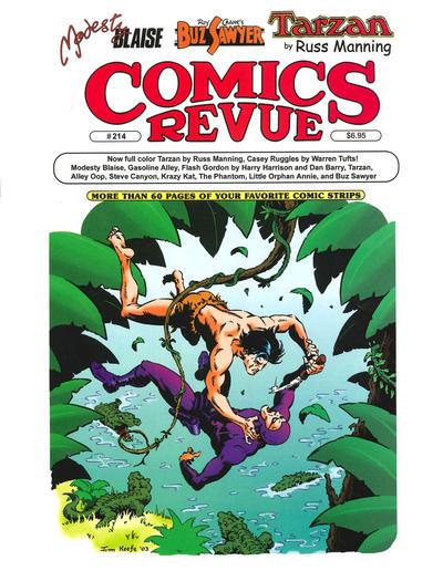 Cover for Comics Revue (Manuscript Press, 1985 series) #214