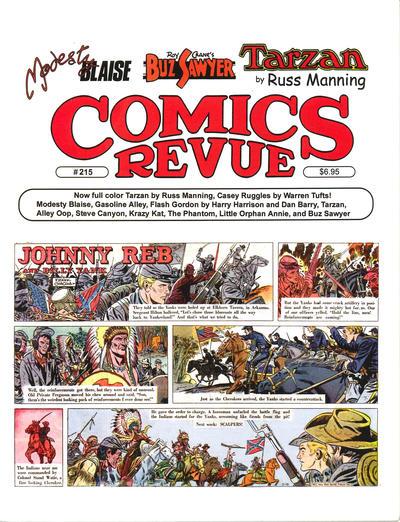 Cover for Comics Revue (Manuscript Press, 1985 series) #215
