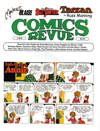Cover for Comics Revue (Manuscript Press, 1985 series) #219