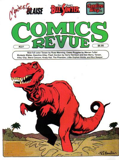 Cover for Comics Revue (Manuscript Press, 1985 series) #221