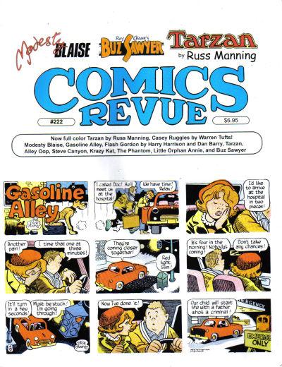 Cover for Comics Revue (Manuscript Press, 1985 series) #222