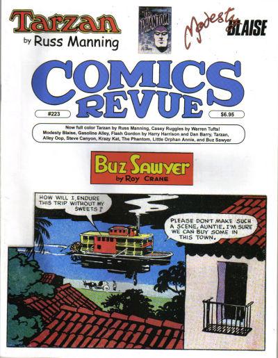 Cover for Comics Revue (Manuscript Press, 1985 series) #223