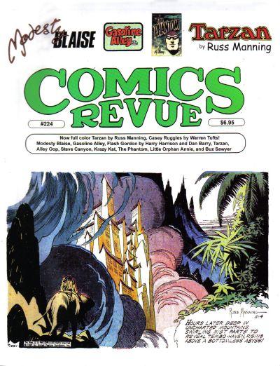 Cover for Comics Revue (Manuscript Press, 1985 series) #224