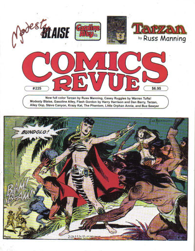 Cover for Comics Revue (Manuscript Press, 1985 series) #225