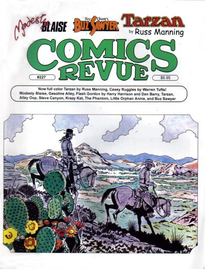 Cover for Comics Revue (Manuscript Press, 1985 series) #227