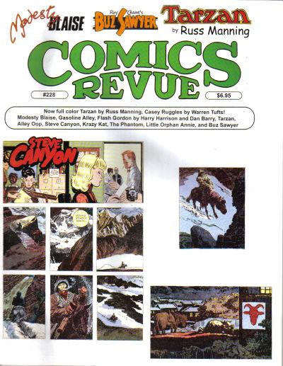 Cover for Comics Revue (Manuscript Press, 1985 series) #228