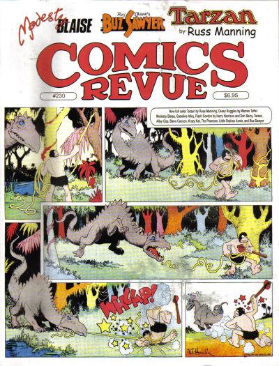 Cover for Comics Revue (Manuscript Press, 1985 series) #230