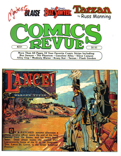 Cover for Comics Revue (Manuscript Press, 1985 series) #231