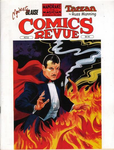 Cover for Comics Revue (Manuscript Press, 1985 series) #232