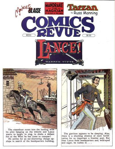Cover for Comics Revue (Manuscript Press, 1985 series) #233