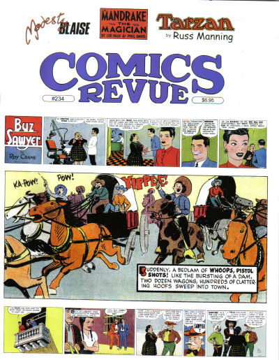Cover for Comics Revue (Manuscript Press, 1985 series) #234