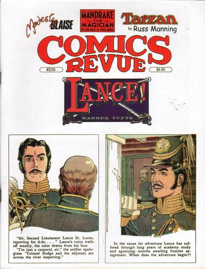 Cover for Comics Revue (Manuscript Press, 1985 series) #235