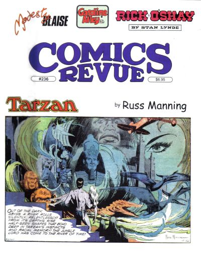 Cover for Comics Revue (Manuscript Press, 1985 series) #236