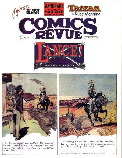 Cover for Comics Revue (Manuscript Press, 1985 series) #237