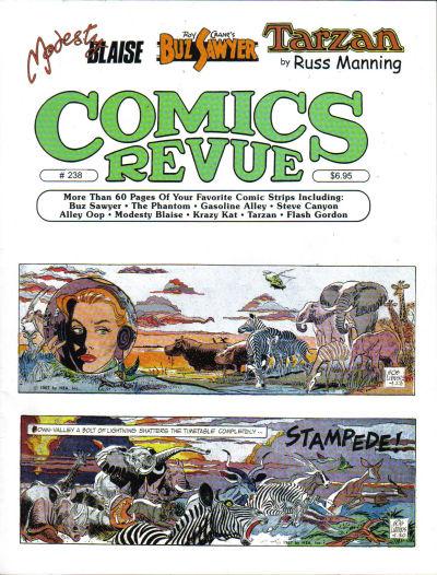 Cover for Comics Revue (Manuscript Press, 1985 series) #238