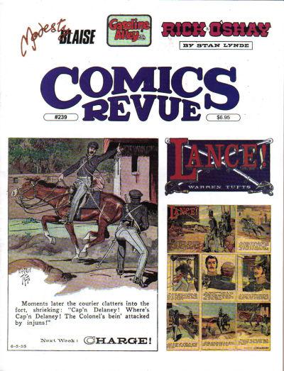 Cover for Comics Revue (Manuscript Press, 1985 series) #239