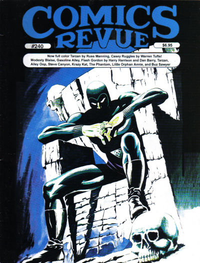 Cover for Comics Revue (Manuscript Press, 1985 series) #240
