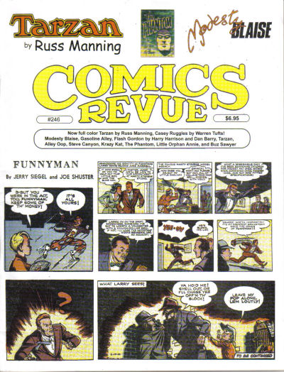 Cover for Comics Revue (Manuscript Press, 1985 series) #246