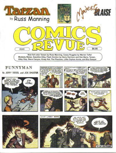 Cover for Comics Revue (Manuscript Press, 1985 series) #246