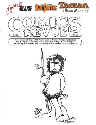 Cover for Comics Revue (Manuscript Press, 1985 series) #250