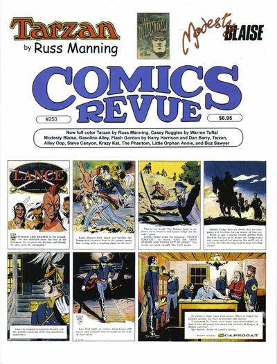 Cover for Comics Revue (Manuscript Press, 1985 series) #253