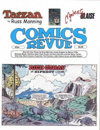 Cover for Comics Revue (Manuscript Press, 1985 series) #254