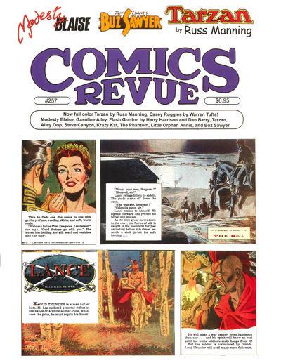 Cover for Comics Revue (Manuscript Press, 1985 series) #257