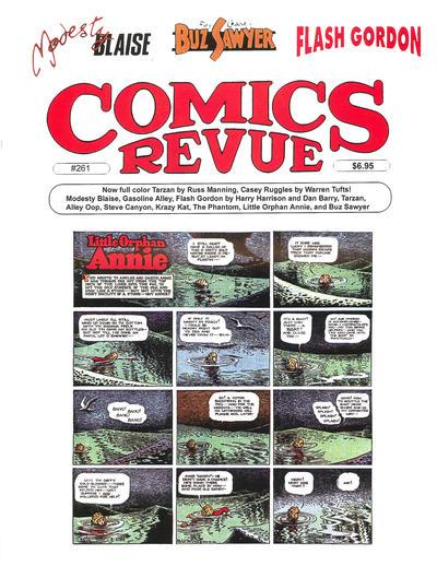 Cover for Comics Revue (Manuscript Press, 1985 series) #261