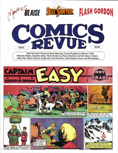 Cover for Comics Revue (Manuscript Press, 1985 series) #263