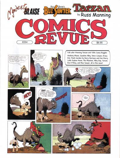 Cover for Comics Revue (Manuscript Press, 1985 series) #264