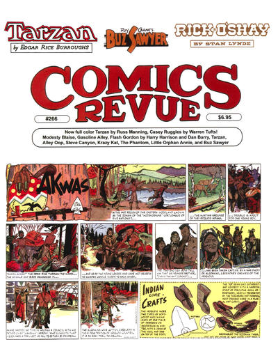 Cover for Comics Revue (Manuscript Press, 1985 series) #266