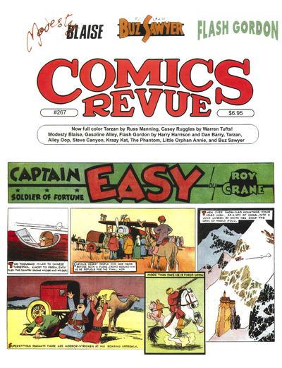 Cover for Comics Revue (Manuscript Press, 1985 series) #267