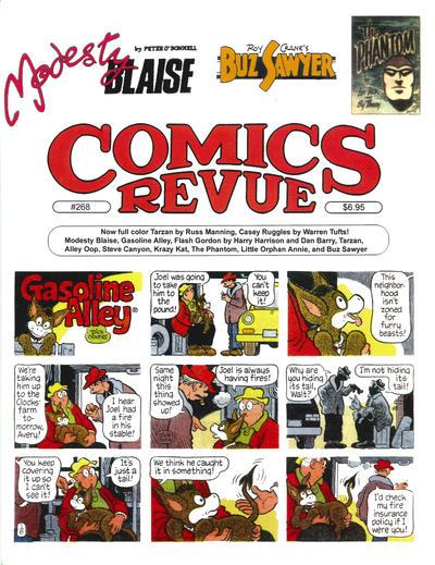 Cover for Comics Revue (Manuscript Press, 1985 series) #268