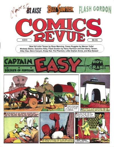 Cover for Comics Revue (Manuscript Press, 1985 series) #269
