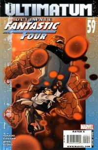 Cover Thumbnail for Ultimate Fantastic Four (Marvel, 2004 series) #59