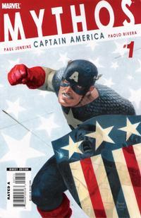 Cover Thumbnail for Mythos: Captain America (Marvel, 2008 series) #1