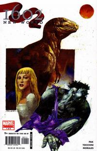 Cover Thumbnail for 1602: New World (Marvel, 2005 series) #1