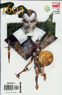 Cover Thumbnail for 1602: New World (Marvel, 2005 series) #4