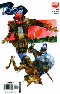 Cover Thumbnail for 1602: New World (Marvel, 2005 series) #5