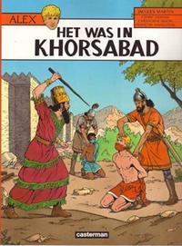 Cover Thumbnail for Alex (Casterman, 1968 series) #25 - Het was in Khorsabad