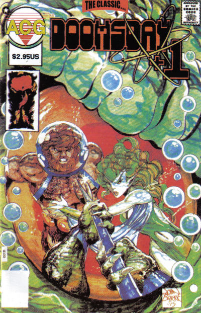 Cover for Doomsday + 1 (Avalon Communications, 1998 series) #3