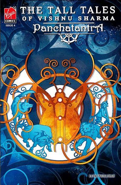 Cover for The Tall Tales of Vishnu Sharma: Panchatantra (Virgin, 2007 series) #4